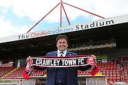 Crawley Town Owner Ziya Eren 08/04/2016