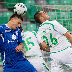 20120420: SLO, Football - PrvaLiga, NK Olimpija Ljubljana vs NK Nafta