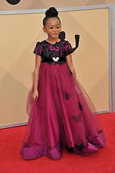 arrives at the 24th annual Screen Actors Guild Awards at The Shrine Exposition Center on January 21, 2018 in Los Angeles, California. <br />