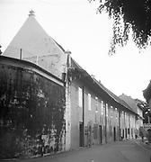 Ronald Lewcock.<br /> Former VOC warehouses, Melaka. Malaysia