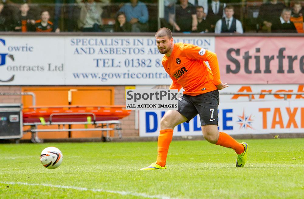 Dundee Utd v Dundee SPFL Premiership Tannadice Park 24 May 2015 <br /> Nadir Cifti opens the scoring<br /> CRAIG BROWN | sportPix.org.uk