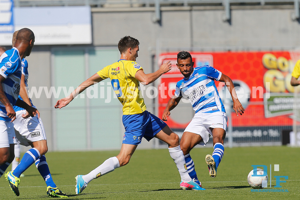 Pec Zwolle Sc Cambuur Oefen Cambuur Images