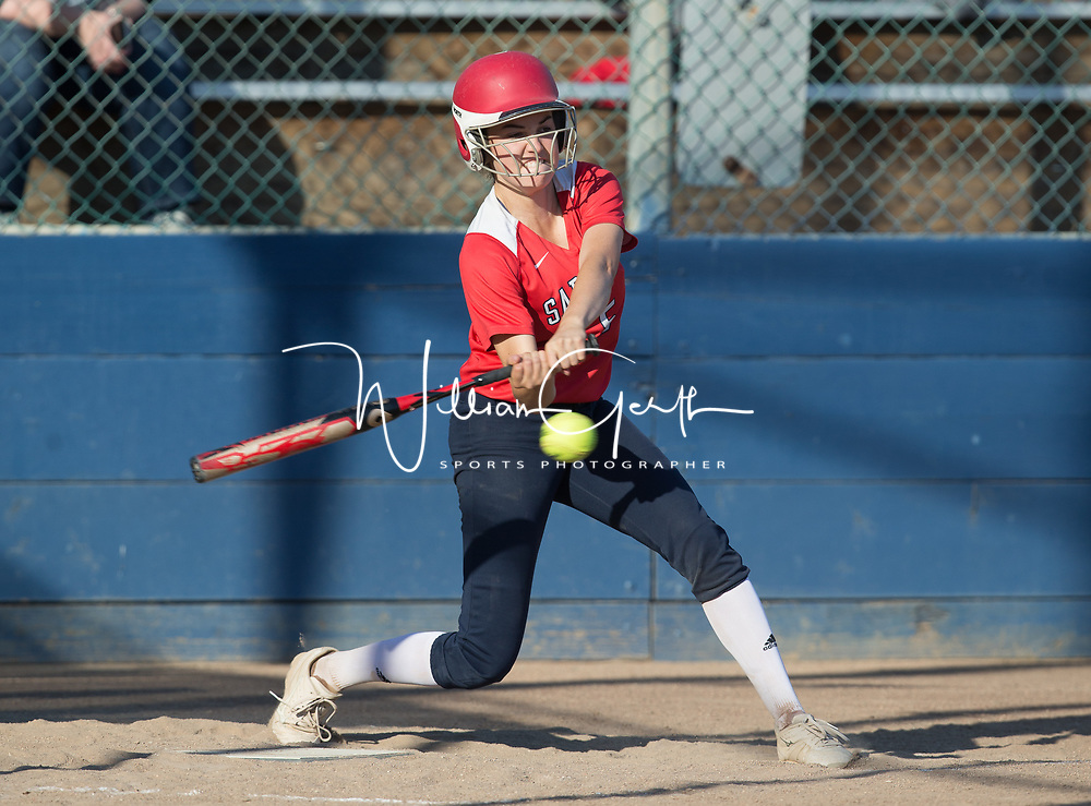 (Photograph by Bill Gerth/ for Max Preps5/23/17) Saratoga vs Hillsdale in the CCS semi finals softball game at PAL Stadium, San Jose CA on 5/23/17.