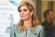 Werkbezoek van Zijne Majesteit de Koning, vergezeld door Hare Majesteit Koningin Maxima aan de Duitse deelstaten Thüringen, Saksen en Saksen-Anhalt<br /> <br /> Working visit of His Majesty the King, accompanied by Her Majesty Queen Maxima in the German states of Thuringia, Saxony and Saxony-Anhalt<br /> <br /> Op de foto / On the photo:  Bezoek aan spinlab/start up accelerator in het HHL Spinlab, Bauwmwollspinnerei waar jonge ondernemers en culturele instellingen samenwerken.<br /> <br /> Visiting Spinlab / start-up accelerator in the HHL Spinlab, Bauwmwollspinnerei where young entrepreneurs and cultural institutions collaborate.