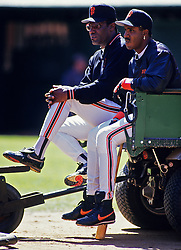 Bobby Bonds and Barry Bonds, 1995