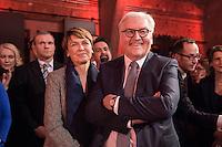11 FEB 2017, BERLIN/GERMANY:<br /> Elke Buedenbender (L), Ehefrau von Steinmeier, Frank-Walter Steinmeier (R), SPD, Kandidat fuer das Amt des Bundespraesidenten, waehrend einem Empfang der SPD anl. der Bundesversammlung, Westhafen Event und Convention Center<br />  IMAGE: 20170211-03-019<br /> KEYWORDS: Elke B&uuml;denbender