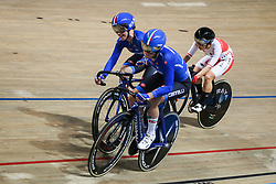 March 2, 2019 - Pruszkow, Poland - Letizia Paternoster, Maria Giulia Confalonieri (ITA) compete in the Women's Madison on day four of the UCI Track Cycling World Championships held in the BGZ BNP Paribas Velodrome Arena on March 02 2019 in Pruszkow, Poland. (Credit Image: © Foto Olimpik/NurPhoto via ZUMA Press)
