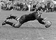 All Black Dave Loveridge in action.<br /> Copright photo: Norman Smith / www.photosport.co.nz