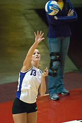 12 November 2006: Trista Humpal. .In the final regular season home game at ISU, the Northern Iowa Panthers defeated the Illinois State Redbirds 3 game to 1. The match took place at Redbird Arena on the campus of Illinois State University in Normal Illinois.<br />