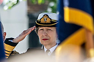 Princess Anne Attends Armed Forces Day