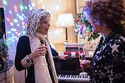 Kate Reardon Tatler goodbye party. Penhouse, Claridges,London.. 13 December 2017