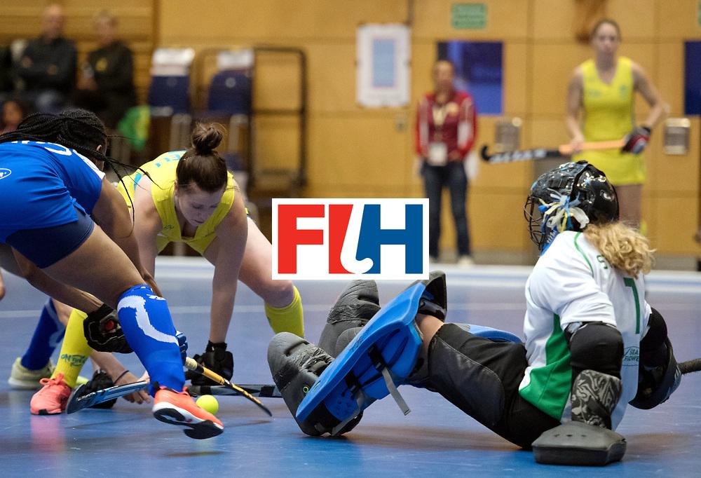 BERLIN - Indoor Hockey World Cup<br /> Australia - Namibia<br /> foto: <br /> WORLDSPORTPICS COPYRIGHT FRANK UIJLENBROEK