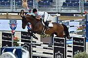 Athina Onassis MHS Going Global during the Longines Paris Eiffel Jumping 2018, on July 5th to 7th, 2018 at the Champ de Mars in Paris, France - Photo Christophe Bricot / ProSportsImages / DPPI