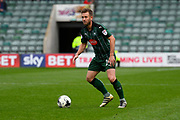 David Fox (24) of Plymouth Argyle during the EFL Sky Bet League 2 match between Plymouth Argyle and Accrington Stanley at Home Park, Plymouth, England on 1 April 2017. Photo by Graham Hunt.