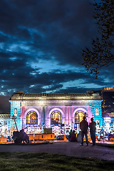 Tryouts in Kansas City for American Ninja Warrior at Union Station, KCMO. April 18, 2015.