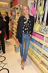 CAMILLE CHARRIÈRE at the opening party of the new Kate Spade New York store at 182 Regent Street, London on 21st April 2016.