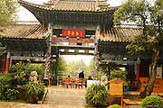 China Yunnan province Lijiang black dragon pool Park,