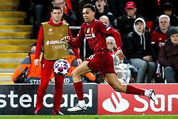 Trent Alexander-Arnold of Liverpool - Mandatory by-line: Robbie Stephenson/JMP - 11/03/2020 - FOOTBALL - Anfield - Liverpool, England - Liverpool v Atletico Madrid - UEFA Champions League Round of 16, 2nd Leg