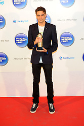 Mercury Prize. <br /> Jon Hopkins attends the Barclaycard Mercury Prize at The Roundhouse, London, United Kingdom. Wednesday, 30th October 2013. Picture by Chris Joseph / i-Images