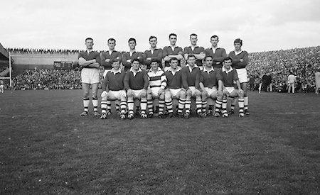 Group photograph of the Senior Cork at the All Ireland Senior Gaelic Football Final Cork v. Meath in Croke Park on the 24th September 1967. Meath 1-9 Cork 0-9.<br />