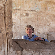Egypt, Luxor. Feb14-17, 2016. Medinet Habu and Chicago House. Ellie Smith.