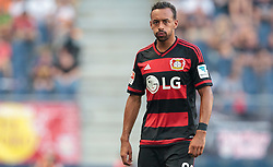 21.07.2015, Red Bull Arena, Salzburg, AUT, Testspiel, FC Red Bull Salzburg vs Bayer 04 Leverkusen, im Bild Karim Bellarabi (Bayer 04 Leverkusen) // during the International Friendly Football Match between FC Red Bull Salzburg and Bayer 04 Leverkusen at the Red Bull Arena in Salzburg, Austria on 2015/07/21. EXPA Pictures © 2015, PhotoCredit: EXPA/ JFK
