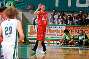 DESCRIZIONE : Siena Lega A 2008-09 Playoff Finale Gara 2 Montepaschi Siena Armani Jeans Milano<br /> GIOCATORE : Mindaugas Katelynas<br /> SQUADRA : Armani Jeans Milano <br /> EVENTO : Campionato Lega A 2008-2009 <br /> GARA : Montepaschi Siena Armani Jeans Milano<br /> DATA : 12/06/2009<br /> CATEGORIA : delusione<br /> SPORT : Pallacanestro <br /> AUTORE : Agenzia Ciamillo-Castoria/G.Ciamillo