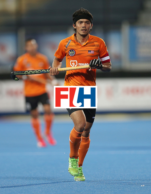 LONDON, ENGLAND - JUNE 16:  Sukri Mutalib of Malaysia during the Hero Hockey World League semi final match between Argentina and Malaysia at Lee Valley Hockey and Tennis Centre on June 16, 2017 in London, England.  (Photo by Alex Morton/Getty Images)