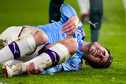 Aymeric Laporte of Manchester City looks in pain after picking up an injury - Mandatory by-line: Robbie Stephenson/JMP - 21/01/2020 - FOOTBALL - Bramall Lane - Sheffield, England - Sheffield United v Manchester City - Premier League