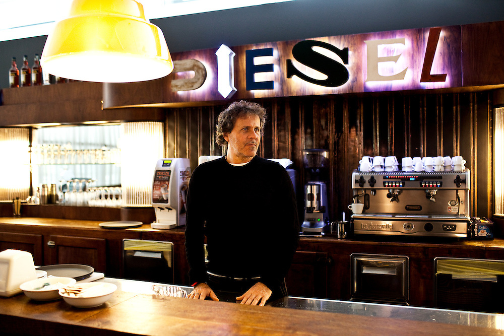 The Diesel president Renzo Rosso. *** General Caption *** The Diesel is a multinational  clothing corporation, the new head office is located at Breganze (Vicenza), Italy, opened in September 2010. It has stores all over the world. It was founded in 1978 by Adriano Goldschmied and Renzo Rosso, president of the company still today. In 1985 Renzo Rosso acquired full ownership of the company, in 1988 and was hired creative director Wilbert Das. Since the early nineties, the diesel starts to open stores around the world. The company currently has approximately 2200 employees, 17 plants located in Europe, Asia and America.