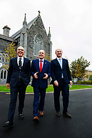 07/09/2017 Repro free David C. McCourt, founder of Granahan McCourt Capital and Chairman of enet  and Stephen Wheeler, MD SSE Ireland with Minister Denis Naughten (centre) who announced a joint venture between enet and SSE which will roll-out superfast broadband to 115,000 premises in regional Ireland. <br />  Photo:Andrew Downes, xposure