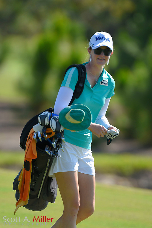 Becca Huffer during the final round of the Chico's Patty Berg Memorial on April 19, 2015 in Fort Myers, Florida. The tournament feature golfers from both the Symetra and Legends Tours.<br /> <br /> &copy;2015 Scott A. Miller