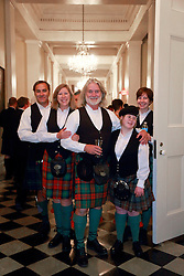 08 November 2014. New Orleans, Louisiana. <br /> 2014 International Irish Famine Commemoration, Gallier Hall.<br /> Photo; Charlie Varley/varleypix.com