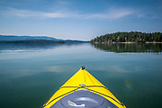 Kayaking on Flathead Lake with Linda Graf