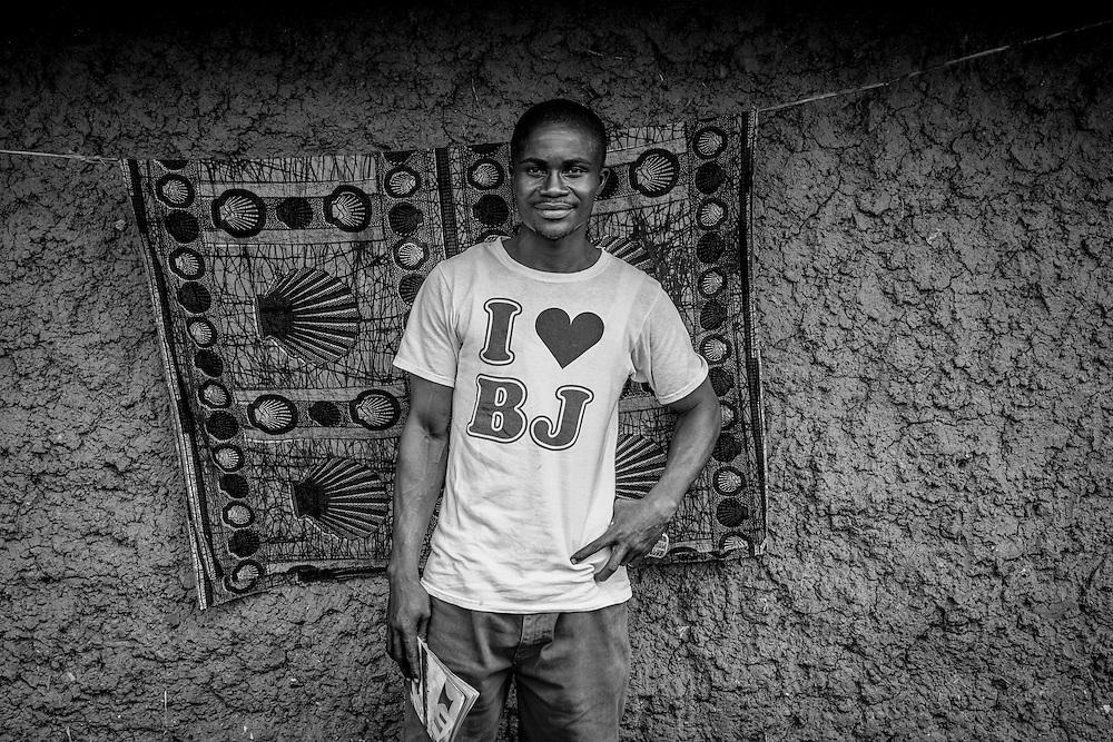 Portrait of Sam. John Logan Town, Liberia.