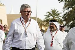 April 8, 2018 - Sakhir, Bahrain - BRAWN Ross (gbr), Managing Director of motorsport Formula One Group, portrait during 2018 Formula 1 FIA world championship, Bahrain Grand Prix, (Credit Image: © Hoch Zwei via ZUMA Wire)