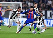 Juventus v Barcelona 11 April 2017