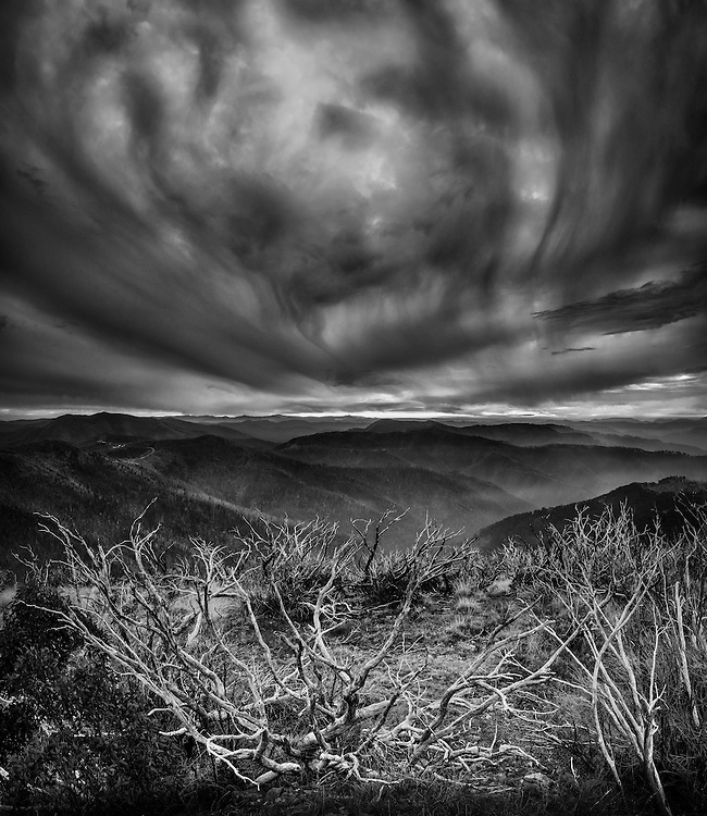 View from Mount Hotham, Victorian Alps, Australia