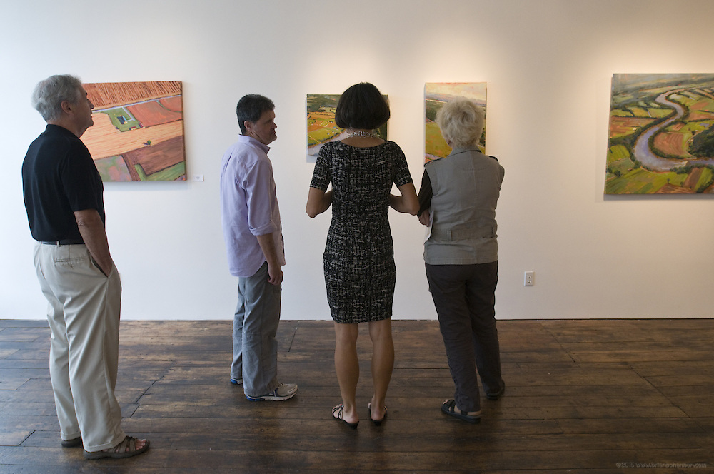 Art for sale at Zephyr Gallery, Friday, Aug. 19, 2011 in Louisville, Ky. (Photo by Brian Bohannon)