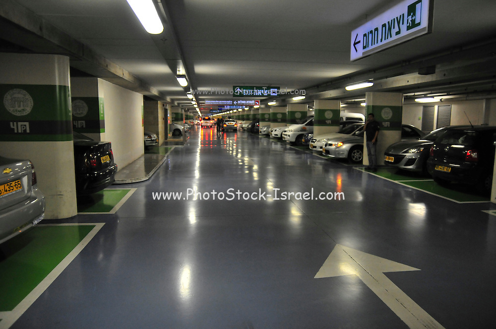 Israel, Jerusalem Safra underground parking