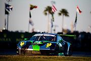 January 22-26, 2020. IMSA Weathertech Series. Rolex Daytona 24hr. #54 BLACK SWAN RACING, Porsche 911 GT3 R, Jeroen Bleekemolen, Sven Muller, Trenton Estep