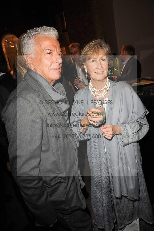 NICKY HASLAM and PATTI PALMER-TOMKINSON at a party to celebrate the publication of Inheritance by Tara Palmer-Tomkinson at Asprey, 167 New Bond Street, London on 28th September 2010.