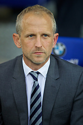 CARDIFF, WALES - Wednesday, August 17, 2016: Cardiff City's manager Paul Trollope before the Football League Championship match against Blackburn Rovers at Cardiff City Stadium. (Pic by David Rawcliffe/Propaganda)