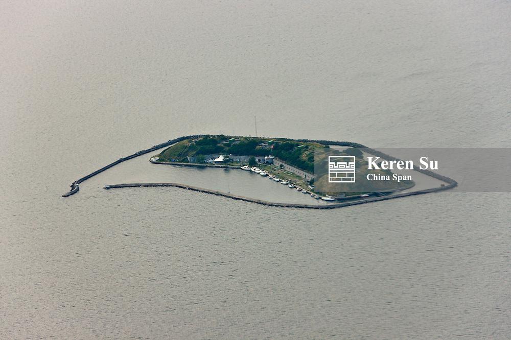 Aerial view of Funen Island, Finland