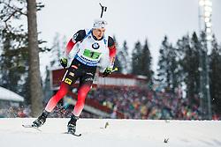March 16, 2019 - –Stersund, Sweden - 190316 Vetle SjÃ¥stad Christiansen of Norway competes in the Men's 4x7,5 km Relay during the IBU World Championships Biathlon on March 16, 2019 in Östersund..Photo: Johan Axelsson / BILDBYRÃ…N / Cop 245 (Credit Image: © Johan Axelsson/Bildbyran via ZUMA Press)