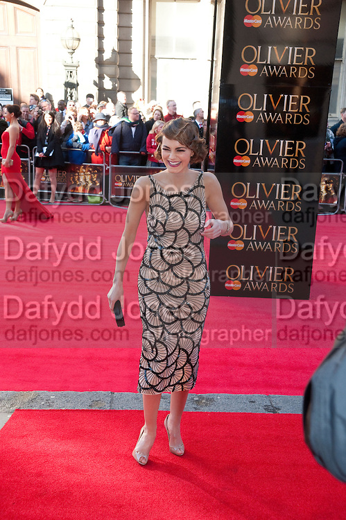 KARA TOINTON, Olivier Awards 2012, Royal Opera House, Covent Garde. London.  15 April 2012.