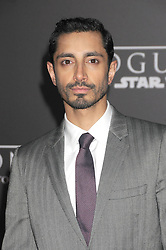 December 10, 2016 - Los Angeles, CA, United States of America - Riz Ahmed arriving at the Star Wars ''Rogue One'' World Premiere at the Pantages Theater on December 10 2016 in Hollywood, CA  (Credit Image: © Famous/Ace Pictures via ZUMA Press)