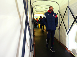 Eros Pisano of Bristol City arrives at the Macron Stadium ahead of the fixture with Bolton Wanderers - Mandatory by-line: Robbie Stephenson/JMP - 02/02/2018 - FOOTBALL - Macron Stadium - Bolton, England - Bolton Wanderers v Bristol City - Sky Bet Championship