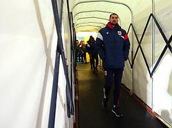 Eros Pisano of Bristol City arrives at the Macron Stadium ahead of the fixture with Bolton Wanderers - Mandatory by-line: Robbie Stephenson/JMP - 02/02/2018 - FOOTBALL - Macron Stadium - Bolton, England - Bolton Wanderers v Bristol City - Sky Bet Championship