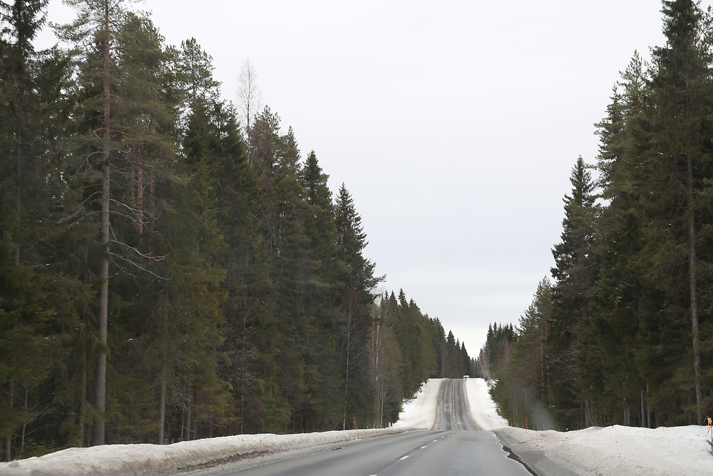 Une route finlandaise
